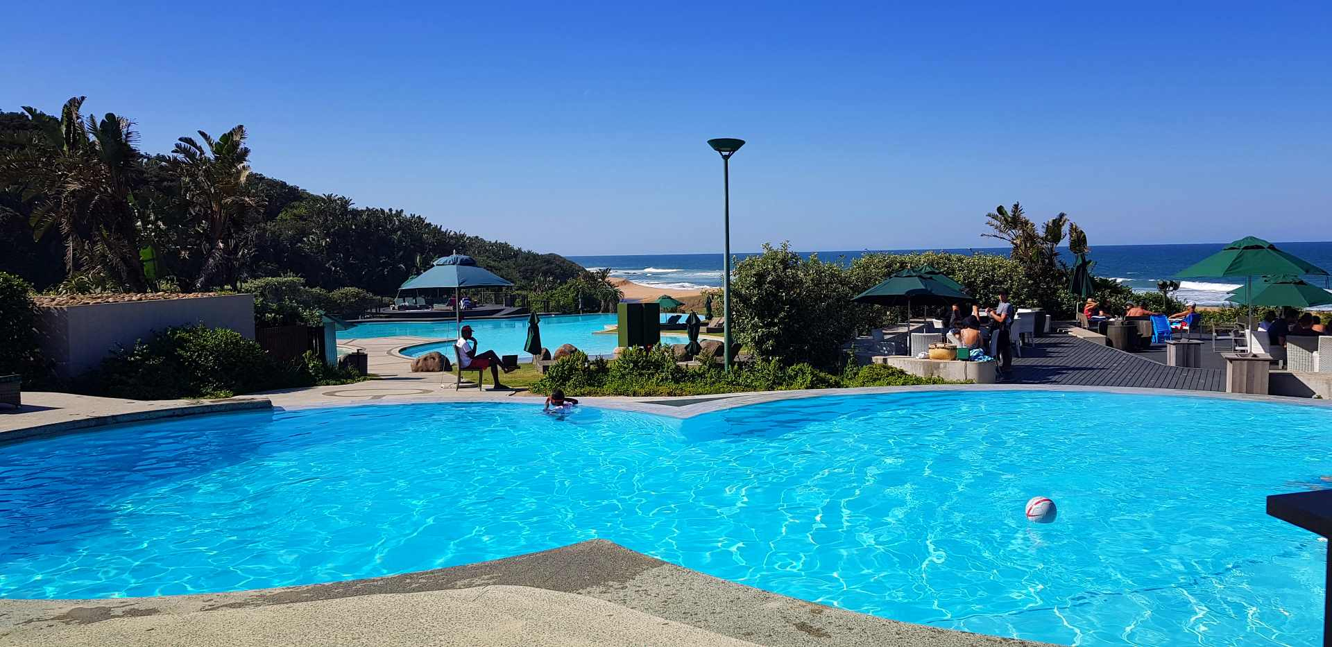 zimbali beach - Valley of the pools